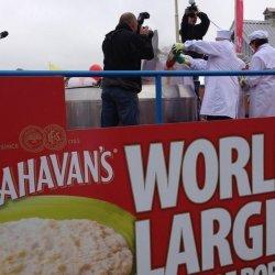 W Waterford ustanowili nowy rekord świata... na największą owsiankę
