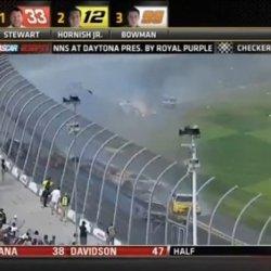 Gigantyczny wypadek podczas zawodów Daytona 500 w USA