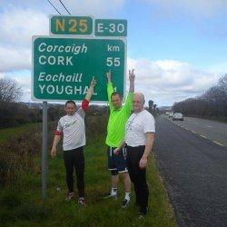 Bieg Dogonić Marzenia na już na odcinku Cork - Ballymakeery - Killarney!