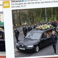 Setki kibiców pożegnały kapitana Derry City