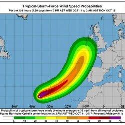 Czerwony alert dla Irlandii. Ophelia nadciąga