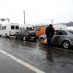 Blokady polskich przejść granicznych