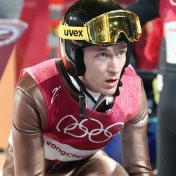 Stoch czwarty, Hula piąty w olimpijskim konkursie skoków