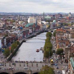 Prom przez rzekę w Dublinie wraca po 35 latach