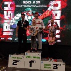Polski kickboxer zwyciężył w Dublinie