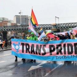 W sobotniej Trans Pride w Dublinie udział wzięło kilkaset osób