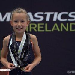 Pola Drabik - 7-letnia zdobywczyni trzech złotych medali w gimnastyce artystycznej