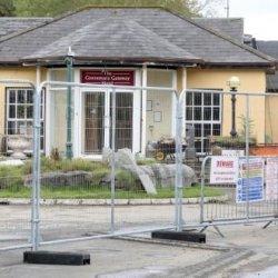 Mieszkańcy protestowali przeciwko stworzeniu obozu dla imigrantów pod Galway