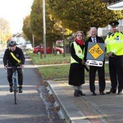 Grzywny i karne punkty dla kierowców narażających rowerzystów