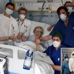 95-letnia pacjentka pokonała koronawirusa