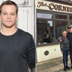 Matt Damon spędza kwarantannę w Irlandii