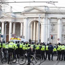 23 osoby zatrzymane podczas sobotniego protestu w Dublinie