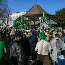Aresztowania po dublińskich demonstracjach w dniu Świętego Patryka
