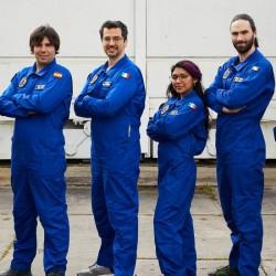 irlandzki astronauta na symulowanej misji kosmicznej w Polsce
