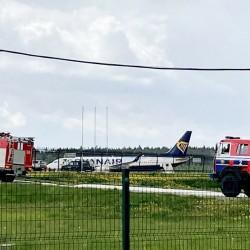 Samolot Ryanair uziemiony na Białorusi