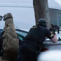 Strzelanina przy oblężeniu domu w Dublinie