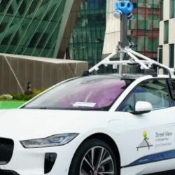 Elektryczny Jaguar ma jeździć po Dublinie i robić zdjęcia dla Google