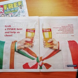 Tyskie przekonuje Irlandczyków, żeby kibicowali Polakom podczas Euro