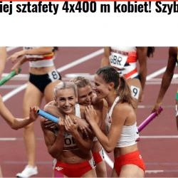 14 medali Polaków w Tokio, srebro sztafety, brąz kajakarek