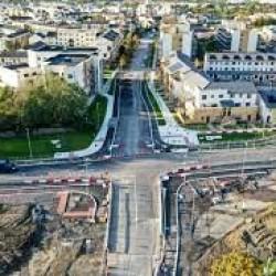 Zmienne ograniczenia prędkości na drodze w Dublinie