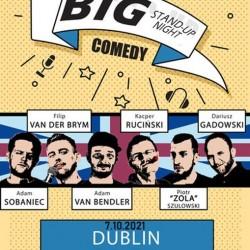 Do Irlandii zawita ekipa niebanalnego wydarzenia Big Stand Up Night. Na scenie wystąpi ścisła czołówka polskiego stand-upu, którą rzadko można zobaczyć w takim zestawie...