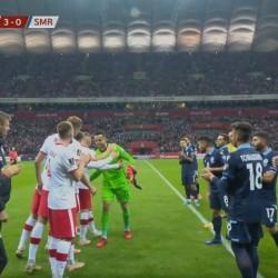 Polska - San Marino 5:0, Pożegnanie Fabiańskiego