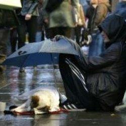 Bezdomni na ulicach stolicy