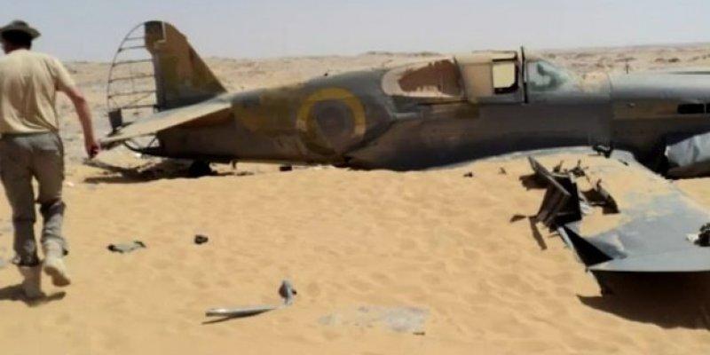Polak odnalazł wrak samolotu