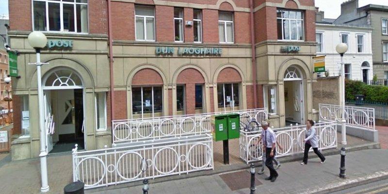 Napad na pocztę w Dún Laoghaire w Dublinie