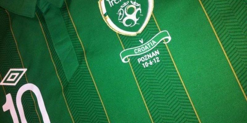 Irlandczycy nie zagrają już więcej w zielonych z mistrzostw Europy w Polsce
