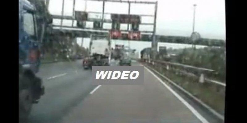 Garda opublikowała dramatyczne nagrania z dróg w stolicy Irlandii