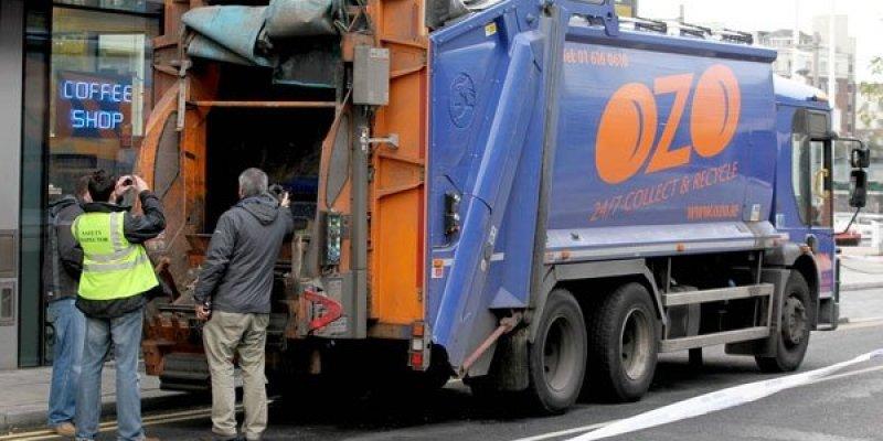 Aktualizacja: Śmieciarka zabiła Polaka w centrum Dublina