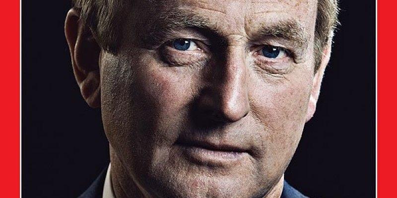Enda Kenny na okładce Timesa! Premier Irlandii wzorem dla Europy
