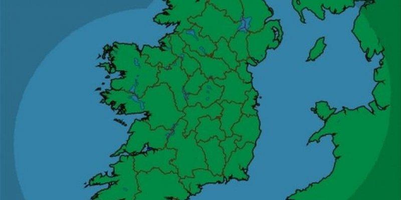 06 października 2012 roku przejdzie do historii irlandzkiej pogody. NIGDZIE NIE PADAŁO!