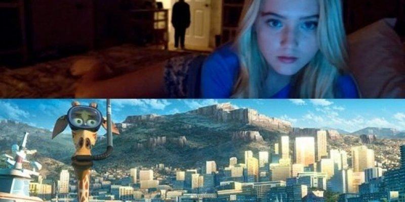 Dzieci wybiegły z kina, bo zamiast Madagaskar 3 obsługa kina wyświetliła Paranormal Activity 4