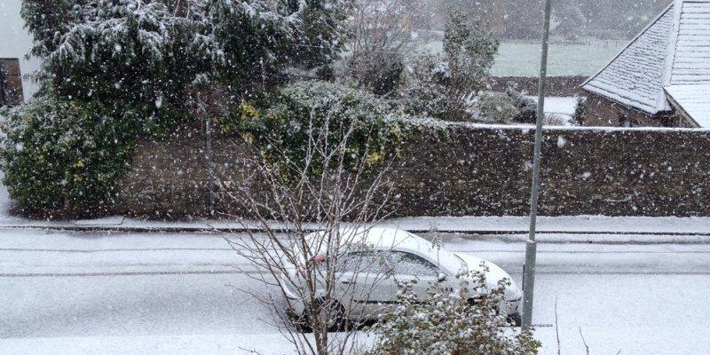 No i mamy pierwszy śnieg w Irlandii tej jesieni