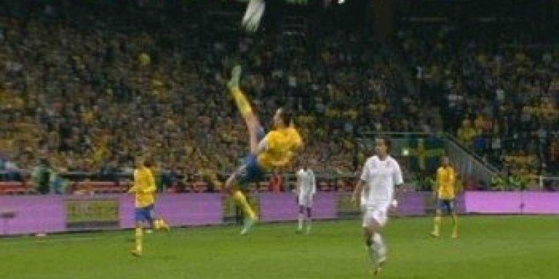 Zlatan i najpiękniejszy gol na świecie! Coś pięknego!