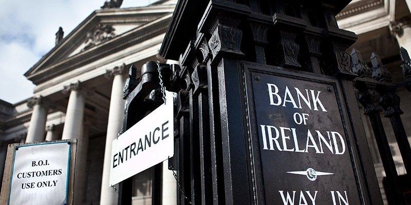 Napad na Bank of Ireland w samym centrum Dublina