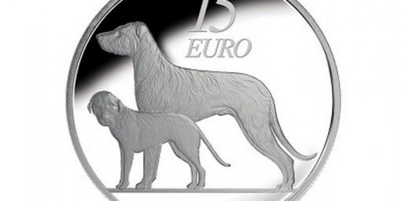 Centralny Bank Irlandii wypuszcza srebrną monetę wartości 15 euro