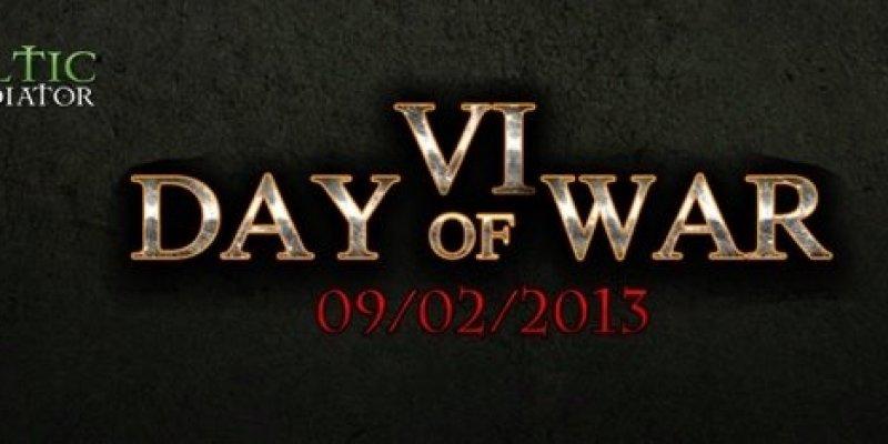 Celtic Gladiator Day of War coraz bliżej