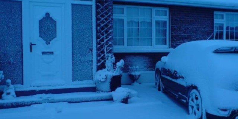 Śnieg spadł w całej Irlandii
