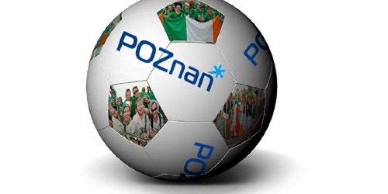 Poznański akcent na meczu w Dublinie