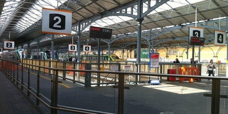 Jechał pociągiem do Dublina sprzedać kokainę wartości 140 000 euro