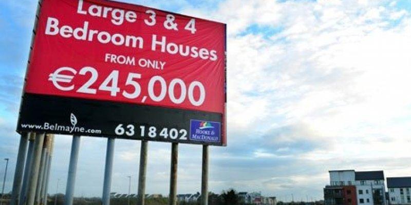 Ceny nieruchomości w Irlandi spadają, ale nie wszędzie
