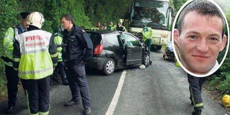 Groźny wypadek i wzorowo przeprowadzona akcja ratunkowa