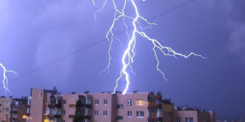 Gwałtowne burze nad Polską.