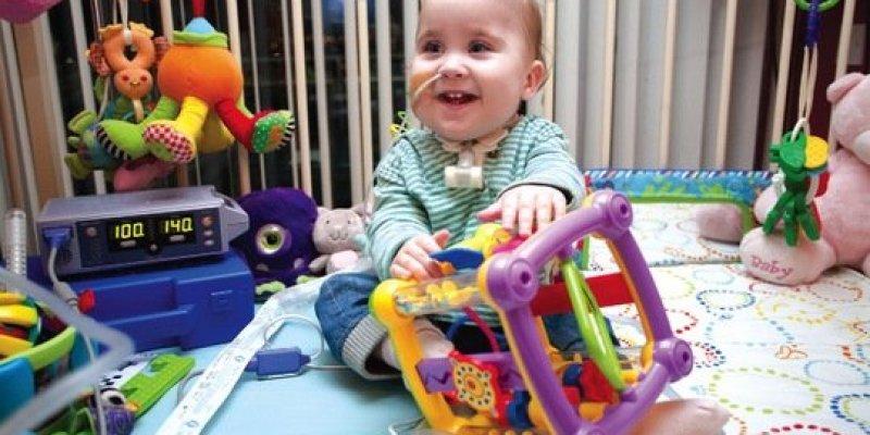 Trzyletnia córka Polki i Irlandczyka wraca do zdrowia