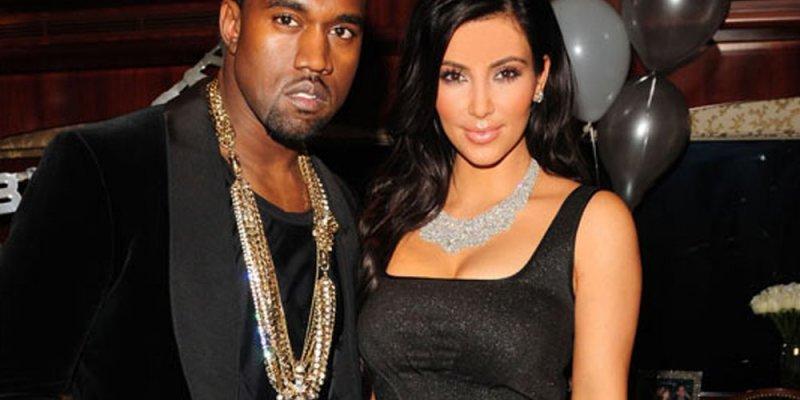 Kim Kardashian i Kanye West w Irlandii