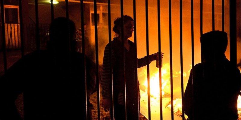 Ogień Halloween strawił tor kartingowy i skład opon