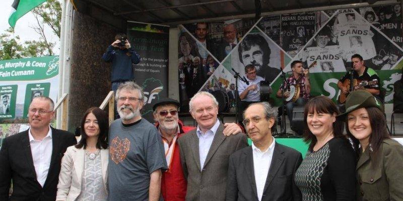 Sinn Fein jest najpopularniejszą partią w Irlandii